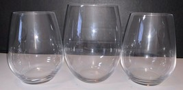 "Riedel Glass ""O"" Pattern 1 Cabernet 2 Riesling Wine Glasses Vintage UK E... - $16.75"