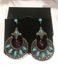 Avon Half Moon Dangle Earrings Pierced 2010 - $9.90