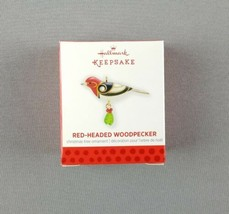 Hallmark 2013 Keepsake Miniature Ornament Red-Headed Woodpecker Beauty o... - $26.68
