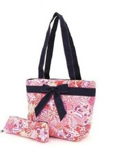 Quilted paisley print insulated lunch bag PPQ27LT19(FSNV)  BS500 - €9,24 EUR