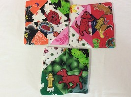 Clifford The Dog Hot Pads Bowl Coasters Potholders Lot 3 Handmade New Cr... - $1.41