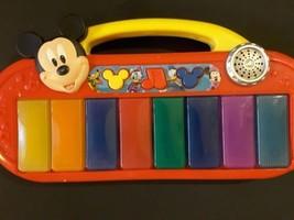 Mickey Mouse Clubhouse Disney keyboard piano mu... - $10.15