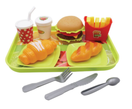 2 Set of Roy fast food playset toys for kids 3 years + - $19.70
