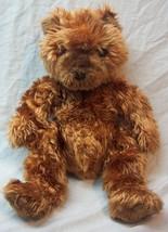 """TY Beanie Buddy SOFT FUZZY BROWN TEDDY BEAR 13"""" Stuffed Animal Toy 2001 - $18.32"""