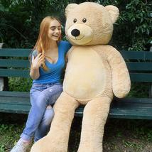 Light brown teddy bear danny 72 inches thumb200