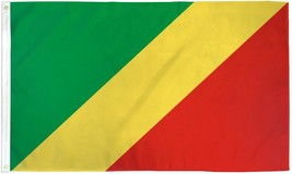 "Congo Republic 3x5' International Flag NEW Banner 36x60"" Big - $9.85"