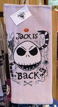 Disney Parks Nightmare Before Christmas Jack Skellington Kitchen Towel Set of 2 - $29.90