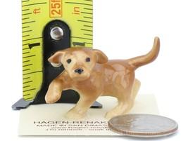 Hagen Renaker Dog Labrador Retriever Puppy Golden Ceramic Figurine image 2