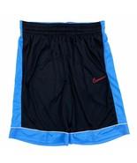 Nike Men's Dri-Fit Fastbreak Basketball Shorts Black Blue BV9452-010 - $23.99