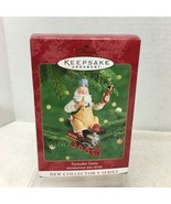 2000 Hallmark Toymaker Santa #1 Christmas Tree Ornament MIB w Price Tag H2 - $18.32