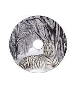 White Tiger Custom DVD Cover on 4.7 GB Blank DVD-R - $6.00