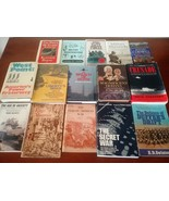 Huge Lot of 24 Military and War Books!  - $23.00