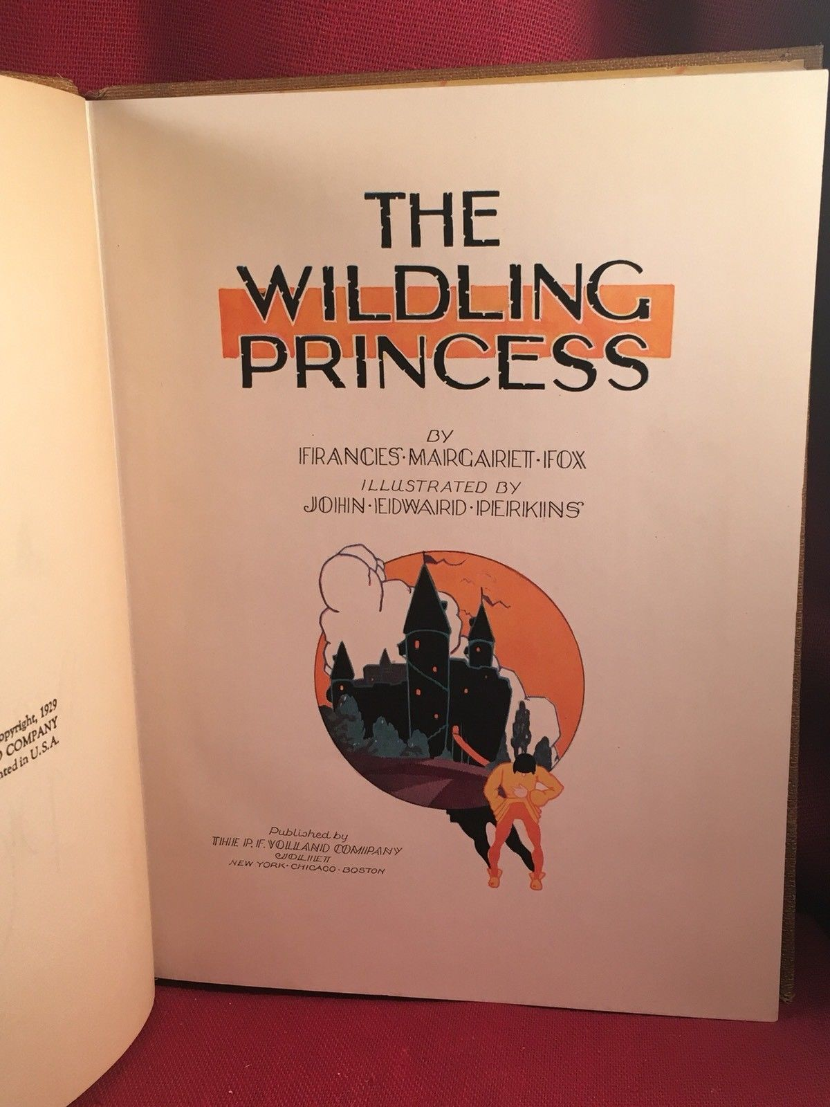 The Wilding Princess by Frances Margaret Fox