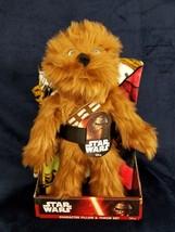 Star Wars Chewbacca Chewie Pillow & Throw blanket Set BB8 Darth Vader 40... - $17.82