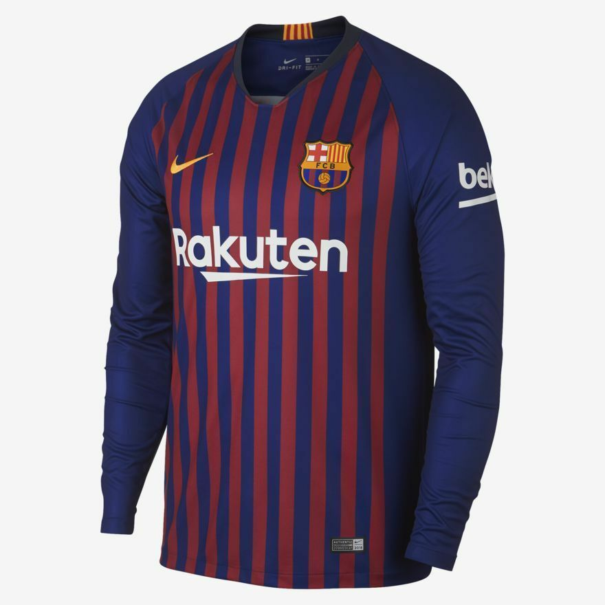 dba1c52d51b Nike Fc Barcelona Long Sleeve Home Jersey and 50 similar items