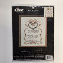 Bucilla Paul to the Corinthians Religious Counted Cross Stitch Kit 40658 New - $15.43