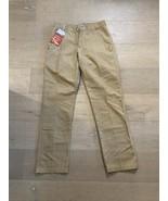 NWT Wrangler Straight Fit Khaki Dress Pants Tag Sz 30x32 100% Cotton NH8... - $32.00