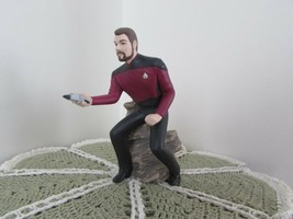 Commander William T Riker 1996 Hallmark ornament w/orig box (d) - $7.70