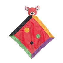 "Ganz Lookie-Loos Dot Red Dog Security Blanket 14"" - $16.49 CAD"