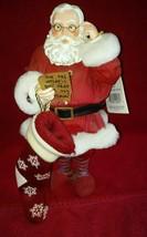 "Clothtique Possible Dreams 2002  ""Sock it to me, Santa"" Let me lighten y... - $36.99"