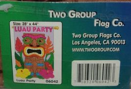 Two Group Flags Co 06042 Luau Party Polyester Tiki Indoor Outdoor Banner image 3