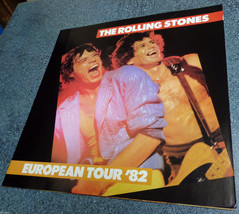 THE ROLLING STONES 1982 European Tour Book Program in Superb Condition! - $24.77
