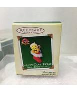 2005 Candy Cane Tweat Mini Hallmark Christmas Tree Ornament MIB w Price ... - $14.36