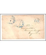 c1840 Baltimore MD Discontinued/Defunct (DPO) Postal Cover  - £8.20 GBP