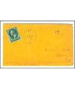 c1880 West Elkton OH Vintage Postal Cover - €8,12 EUR