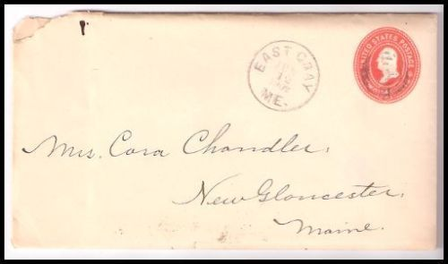 Primary image for 1902 East Gray ME Discontinued/Defunct (DPO) Postal Cover