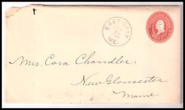 1902 East Gray ME Discontinued/Defunct (DPO) Postal Cover  - $9.95