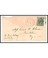 c1882 Blacks & Whites VA Discontinued/Defunct (DPO) Postal Cover  - €8,47 EUR