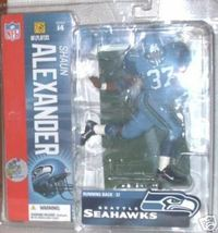 2006 Seattle Seahawks #37 Shaun Alexander Nfl Series 14 Mcfarlane Action Figure - $24.99