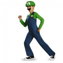 Disguise Super Mario Bros Luigi Classic Child Boys Halloween Costume 73692 - $22.99+