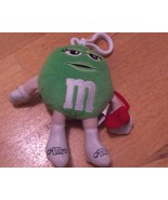 M&M 6 Inch Green Lady Plush Radio - $9.99