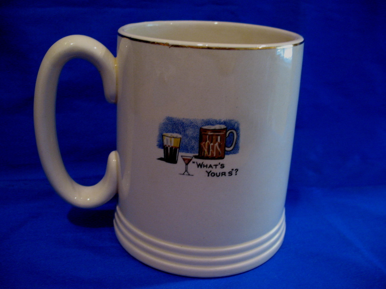 Lord Nelson Ware Silent Night Coffee Mug Tea Cup Vintage Beer Stein Collectible