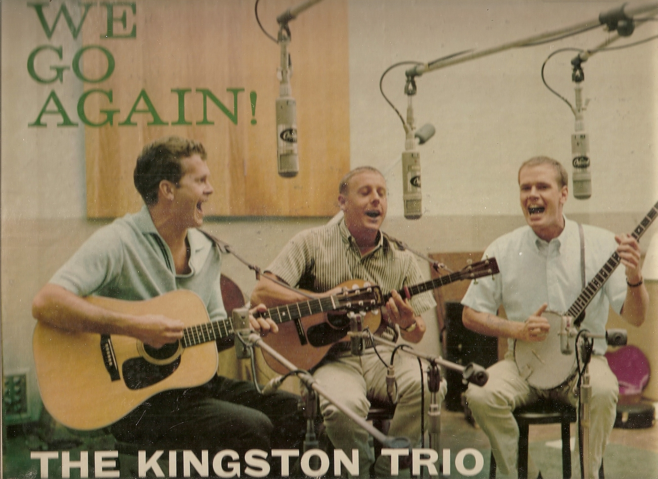 Primary image for LP--The Kingston Trio 	-	 Here We Go Again