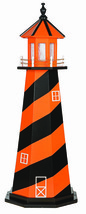 BALTIMORE ORIOLES LIGHTHOUSE - Baseball Orange & Black Working Light AMI... - $222.72+