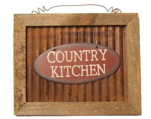 Rustic Country Kitchen Sign ~ 56021CK