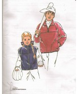 Boys Girls Kwik Sew Fleece Vest Jacket Sew Pattern 8-14 New Uncut - $11.99