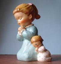 Goebel Evening Prayer Byj 38 Girl & Doll Figurine 1959 W. Germany - $54.90