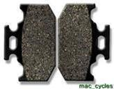 Kawasaki Disc Brake Pads KDX200 1988-2006 Rear (1 set)