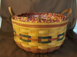 Longaberger 1995 Shades Of Autumn Basket Of Plenty #15563 Liner Protector  - $35.00