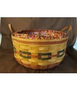 Longaberger 1995 Shades Of Autumn Basket Of Plenty #15563 Liner Protector  - $35.00