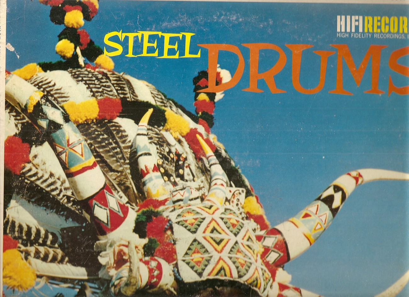 STEEL DRUM GROUP Steel Drums HIFI LP