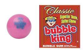 Bubble King Classic Pink Vending Gumballs w/Logo  - $39.00
