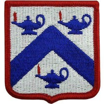 GENUINE U.S. ARMY PATCH: COMMAND AND GENERAL STAFF COLLEGE - COLOR - PAIR - $15.82