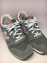 New Balance 373 Women's Sneackers Dark Gray/Pink Suede Size 10US 8UK 41.5EU - $23.38