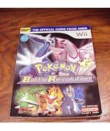 Pokemon Battle Revolution Strategy Guide Book for Wii - $7.75