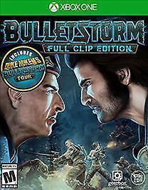 Bulletstorm: Full Clip Edition (Microsoft Xbox One, 2017 New)